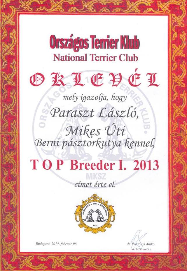 top breader of hungary 2013